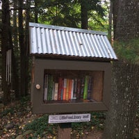 Photo taken at Balsam Circle Little Free Library, Spider Lake by Steven H. on 10/12/2015
