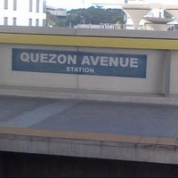 Photo taken at Yellow Line - Quezon Avenue Station by Keicy S. on 11/25/2012