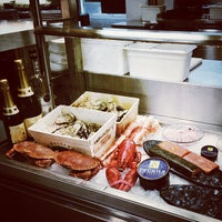 Photo taken at Caviar House & Prunier by Anya on 5/1/2013