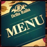 Photo taken at Bella Italia by Valery V. on 9/15/2012