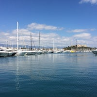 Photo taken at Voiles d'Antibes by Arya A P. on 4/6/2015