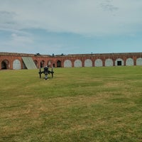 Photo taken at Fort Pulaski by Jacob T. on 5/19/2013