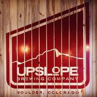 Photo taken at Upslope Brewing Company by Stefan J. on 10/13/2012
