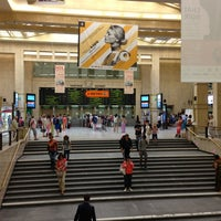 Photo taken at Brussels Central Station by Gerry D. on 7/10/2013