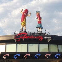 Photo taken at Superdawg Drive-In by Danielle T. on 6/23/2013