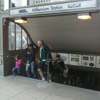 Photo taken at Millennium Station by Jessica F. on 5/4/2013