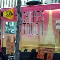 Photo taken at The Crepes Truck by Matthew P. on 8/14/2013