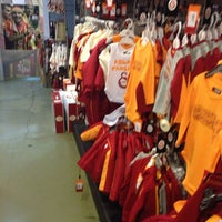 Photo taken at Galatasaray Store by Fulya D. on 2/7/2014