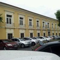 Photo taken at Casa das Onze Janelas by Cesar V. on 2/7/2013