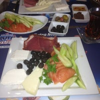 Photo taken at Keyf-i Kahvaltı by Gülin A. on 1/5/2013