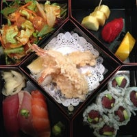 Photo taken at Iroha Sushi of Tokyo by Elizabeth on 6/8/2013