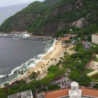 Photo taken at Praia Vermelha by Ian J. on 11/14/2012