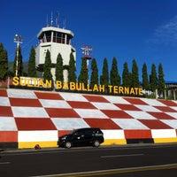 Photo taken at Bandara Sultan Babullah (TTE) by Krisna P. on 5/7/2016