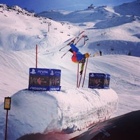 Photo taken at Xperia Ischgl Snowpark by Kiereall K. on 1/29/2014