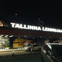 Photo taken at Lennart Meri Tallinn Airport (TLL) by Ramazan on 3/7/2013