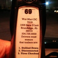 Photo taken at Walmart Grocery Distribution Center by Stephen S. on 9/25/2012