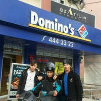 Photo taken at Domino's Pizza by Yasin K. on 1/12/2017