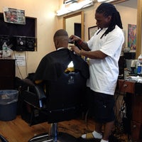 Photo taken at Nelson's Barbershop by Terrence C. on 8/4/2013