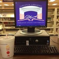 Photo taken at Tarleton State University - Dick Smith Library by Landon on 3/6/2013