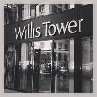 Photo taken at Willis Tower by Jeff N. on 5/20/2013