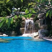 Photo taken at Santhiya Resort And Spa Koh Phangan by Giuls G. on 10/1/2013