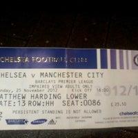 Photo taken at Stamford Bridge by Leandro B. on 11/25/2012