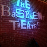 Photo taken at The Basement Theatre by Maria-Esmeralda R. on 12/7/2012