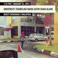 Photo taken at Fakulti Sains Komputer Dan Matematik UiTM by Zarin M. on 1/24/2013