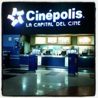 Photo taken at Cinépolis Multicentro by Jorge C. on 7/23/2013