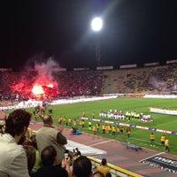 Photo taken at Stadio Renato Dall'Ara by Igor on 9/26/2013