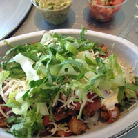 Photo taken at Chipotle Mexican Grill by Monica on 1/19/2013