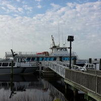 Photo taken at Cumberland Lady (ferry To Cumberland Island) by Kristen D. on 3/15/2014