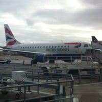 Photo taken at Aberdeen International Airport (ABZ) by Ana B. on 3/1/2013