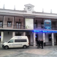 Photo taken at Plaza de España by Marco H. on 2/9/2014