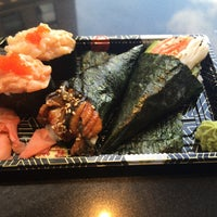 Photo taken at Osaka Sushi Express & Fresh Fruit Smoothies by Sunset C. on 6/1/2016