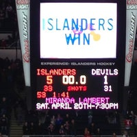 Photo taken at Nassau Veterans Memorial Coliseum by Sandi on 2/17/2013