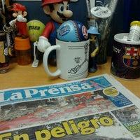 Photo taken at Diario La Prensa by Freddy B. on 2/25/2013