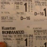 Photo taken at BIG Cinemas by Haslin Y. on 5/1/2013