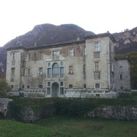 Photo taken at Palazzo delle Albere by Sergio C. on 11/5/2012