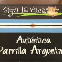 Photo taken at Siga la Vaca by Natalia on 8/24/2013