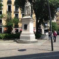 Photo taken at Plaza de Tirso de Molina by Марина Б. on 7/16/2013