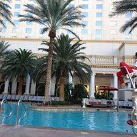 Photo taken at Pools at Monte Carlo Resort & Casino by Allan on 10/18/2012