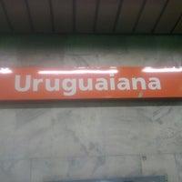 Photo taken at MetrôRio - Estação Uruguaiana by Marcio D. on 9/14/2012