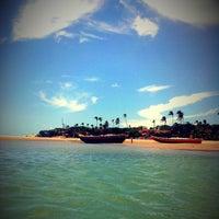 Photo taken at Praia de Jericoacoara by Diego M. on 3/10/2013