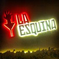 Photo taken at La Esquina Teatro Bar by Caio Lívio A. on 7/5/2013