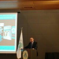 Photo taken at Üsküdar Üniversitesi Nermin Tarhan Konferans Salonu by Büşra A. on 9/24/2014