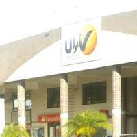 Photo taken at UVV - Universidade Vila Velha by Tati C. on 4/15/2013