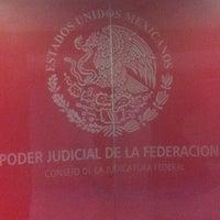 Photo taken at Consejo de la Judicatura Federal Edificio Sede by Andrés M. on 11/21/2012