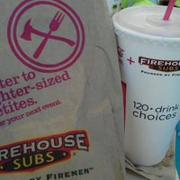 Photo taken at Firehouse Subs by Janet R. on 12/7/2012