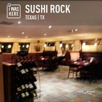 Photo taken at Sushi Rock by Tony B. on 4/13/2013